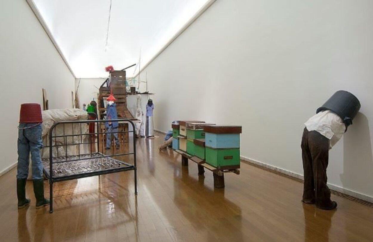 Este recinto acoge la colección de António Cachola, coleccionista natural de Elvás