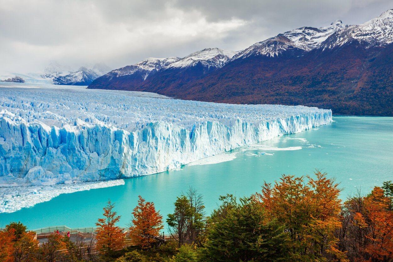 El Perito Moreno es de las vistas más impresionantes que hay en el mundo