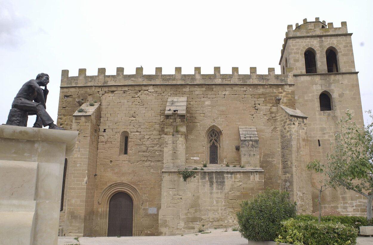 Iglesia de San Juan Bautista en Fabara