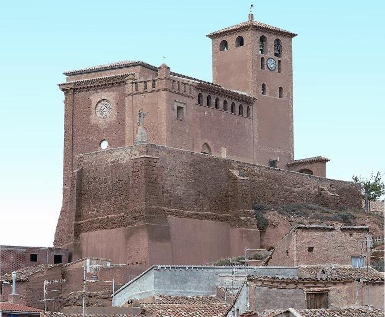 Iglesia de Santa Tecla en Cervera de la Cañada