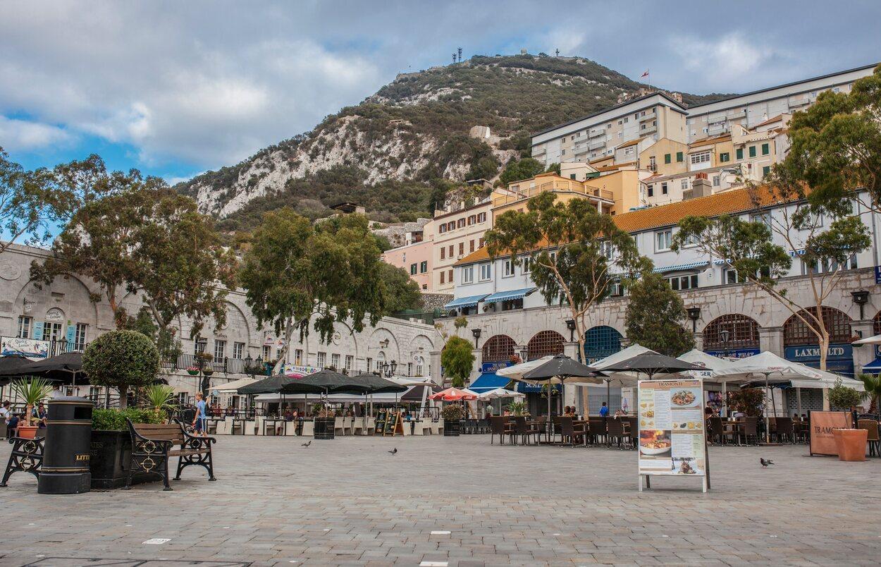 Plaza principal de Gibraltar